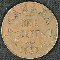 1925 CANADA 1 CENT SMALL PENNY   COLLECTOR GRADE   SEE PHOTO