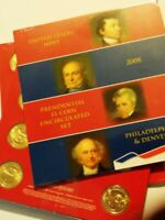 US MINT 2008 P & D  PRESIDENTIAL $1 COIN UNCIRCULATED SEALED SET