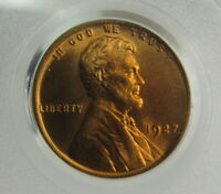 1927 LINCOLN CENT PCGS MINT STATE 65RB