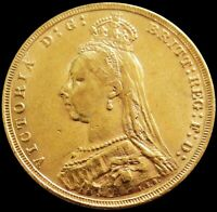 1892 GOLD GREAT BRITAIN SOVEREIGN 7.98 GRAMS JUBILEE HEAD QU