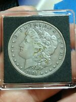1901-O MORGAN SILVER US ONE DOLLAR VAM 15 VARIETY COIN 90/DENTICLES EXTRA OLIVE