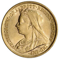 GREAT BRITAIN GOLD 1/2 SOVEREIGN  .1177 OZ  VICTORIA MATRON AVG CIRC RANDOM DATE