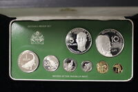 1976 GUYANA. COIN PROOF SET. COMPLETE.