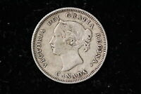 1881 CANADA. 5 CENTS.