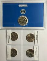 2018 $1 P D S AMERICAN INNOVATION 5 COIN SET   P&D POSITION A AND B  PDS