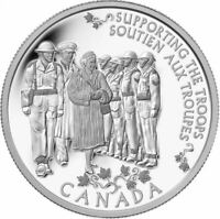 2014 CANADIAN $5 PRINCESS TO MONARCH .9999 FINE SILVER COIN