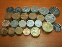 MIXED LOT OF CIRCULATED COINS FROM NEW ZEALAND