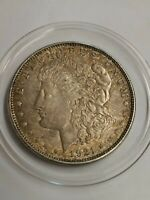 1921-D DOUBLED DATE 1921/1921 MORGAN US VAM VARIETY ONE DOLLAR SILVER COIN