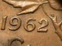 1C AND 5C PAIR OF 1962 DOUBLED DATES ON BOTH  2