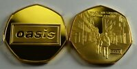 OASIS ' WHAT'S THE STORY  MORNING GLORY..?' 24CT GOLD COMMEM