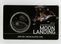 2009 50 CENT UNCIRCULATED COIN: