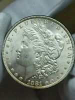 1881-P MORGAN SILVER DOLLAR COIN VAM-30 VARIETY DOUBLED 1-1 TRIPLED 8 R5