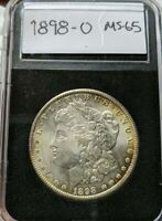 1898-O MORGAN SILVER DOLLAR MS GEM PQ CHBU VAM
