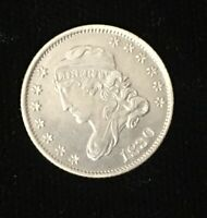 1830 CAPPED BUST HALF DIME FREE S/H