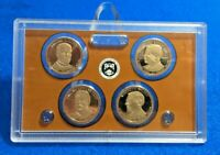 2013 S MCKINLEY, ROOSEVELT, TAFT  WILSON PROOF DOLLAR SET NOBOX/COA