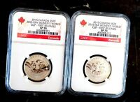 2015 CANADA $20 FIFA WOMEN'S WORLD CUP SILVER NGC SP 70 LOT