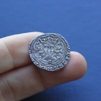 HAMMERED SILVER COIN EDWARD 4TH GROAT YORK MINT C 1461 AD