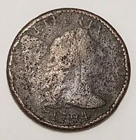 1794 FLOWING HAIR LARGE CENT COIN 1C B003