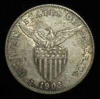 1903 S PESO FROM THE PHILIPPINE ISLANDS.  NO RESERVE