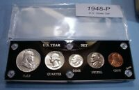 1948 SILVER SET U.S. COINS CHOICE ABOUT UNCIRCULATED TO MINT