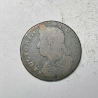 1787 CONNECTICUT CT COLONIAL COPPER TOKEN   AUCTORI CONNEC