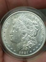 1921-S VAM 3 MORGAN SILVER DOLLAR VARIETY DOUBLED DATE STARS US $1 COIN R5 -