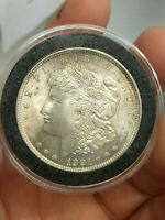 1921-P DOUBLED DATE MORGAN SILVER VARIETY VAM 61 US ONE DOLLAR UNCIRCULATED COIN