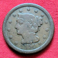 1850 US COIN LIBERTY HEAD WITH