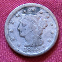 1846 US COIN LIBERTY HEAD WITH