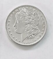 1904-O MORGAN SILVER DOLLAR FROSTY LUSTER SHARP LINES REFLECTIVE SURFACES ESTATE