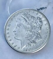 1897-S MORGAN SILVER DOLLAR, SHARP CHOICE BU,  KEY DATE, ULTRA- REFLECTIVE