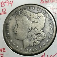1894-O  MORGAN SILVER DOLLAR BETTER DATE COIN