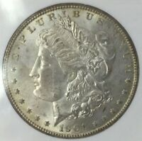 1901 O MORGAN SILVER DOLLAR NGC MINT STATE 63