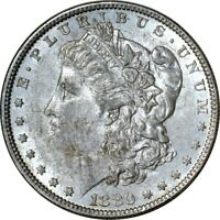 1880-O $1 MORGAN SILVER DOLLAR AU  K7937