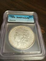 1900  DOLLAR  ICG GRADED MINT STATE 60  DETAILS CLEANED