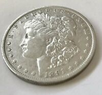 1891-0 SILVER DOLLAR TOUGH DATE REFLECTIVE SURFACES  FIND N BANK ROLL