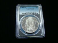 1890-S MORGAN SILVER DOLLAR PCGS GRADED MINT STATE 62