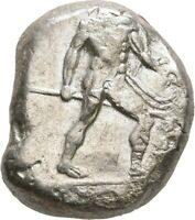 LANZ GREEK PAMPHYLIA ASPENDOS STATER ACHILLES SPEAR SHIELD T