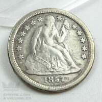 1857 O SEATED LIBERTY DIME EXTRA FINE  CONDITION  SEE PHOTOS