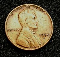 LINCOLN WHEAT CENT-----------1950-D