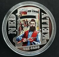 2015 NIUE NED KELLY: THE GANG  25G SILVER  .925  $1 PROOF CO
