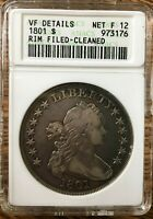 1801 US ONE DOLLAR SILVER PIECE