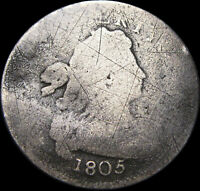 1805 DRAPED BUST DIME        TYPE COIN          W988