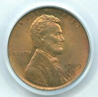 1909-S VDB LINCOLN CENT, PCGS MINT STATE 65RB, THE KEY DATE