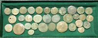 LOT OF 33 ANCIENT ROMAN COINS ALL WITH DETAILS FOR THE ID LA