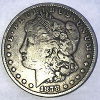 1878 7 TAIL FEATHERS,  MORGAN DOLLAR.  - 113A