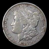 1903-S MORGAN DOLLAR,   COIN FOR THE AGE. - 320