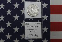 1832 CAPPED BUST HALF DOLLAR - SCRATCHES ON NECK - AU DETAILS CONDITION V99
