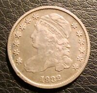 1832 CAPPED BUST DIME VF CONDITION