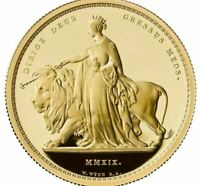 UNA AND THE LION 2019 UK 2OZ GOLD PROOF COIN  LIMITED EDITIO